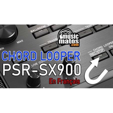 CHORD LOOPER Yamaha PSR-SX900
