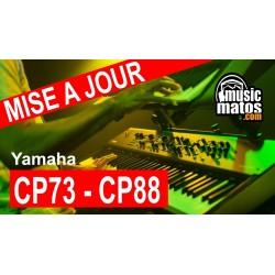 vidéo CP88 CP73 mise à jour OS