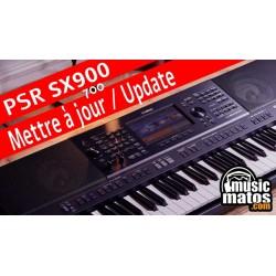 Mettre à jour son PSR SX900 et SX700