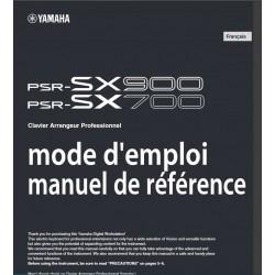 Mode d'emploi et manuel référence PSR SX700/SX900