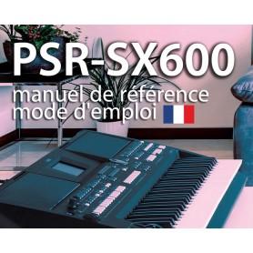 PSR-SX600 MODE D'EMPLOI / MANUEL