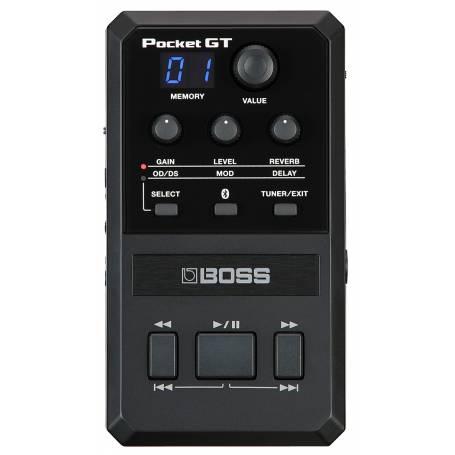 Le BOSS POCKET GT est l'outil idéal pour progresser à la guitare