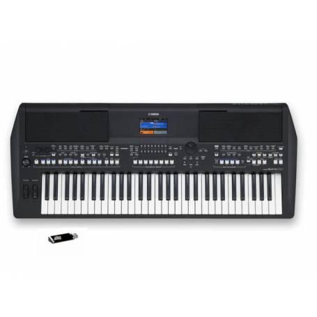 Yamaha PSR SX600 + clé usb offerte