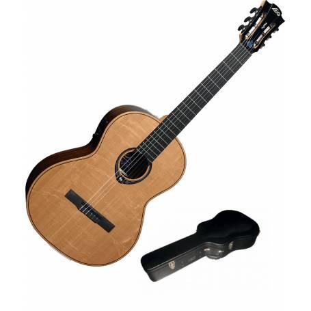 guitare classique LAG HYVIBE CHV30E + étui