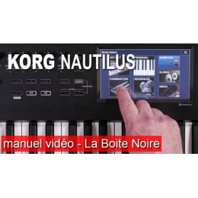 Manuel vidéo en Francais KORG NAUTILUS