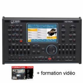 Ketron SD90 + formation vidéo