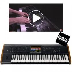 MANUEL VIDEO KORG KRONOS LaBoiteNoireDuMusicien