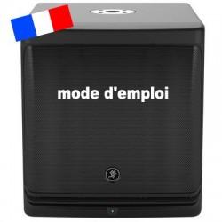 MODE D'EMPLOI MACKIE DLM12S
