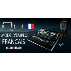 MODE D'EMPLOI en Français QU series