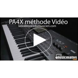 MANUEL VIDEO KORG PA4X61 et PA4X76 LaBoiteNoireDuMusicien