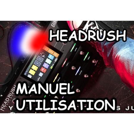 HEADRUSH PEDALBOARD MANUEL UTILISATEUR EN FRANCAIS