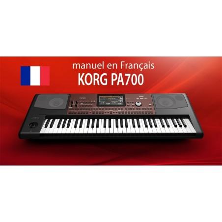 KORG PA700 manuel en Français