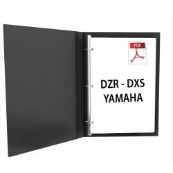 Yamaha DZR - DXS XLF manuel utilisation