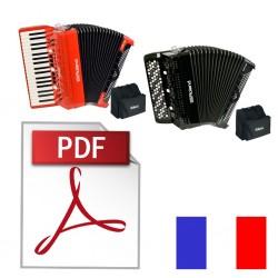 FR-8X / FR-8XB notice en Français