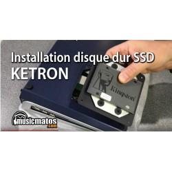 vidéo INSTALLATION HD SSD KETRON