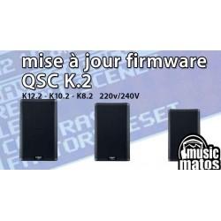 vidéo Mise à jour firmware QSC K2