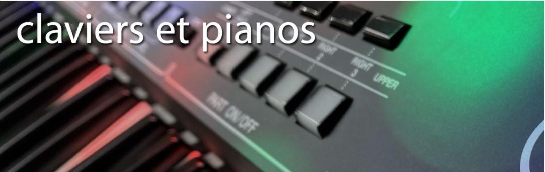 Espace claviers, pianos, synthétiseurs et accordéons