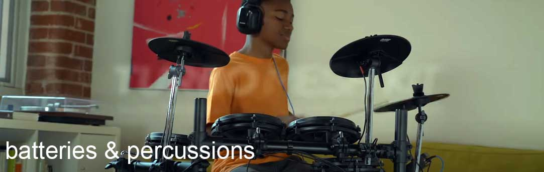 Tout l'univers de la batterie et de la percussion