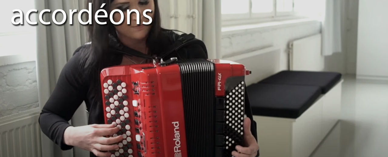 Accordéons et claviers boutons