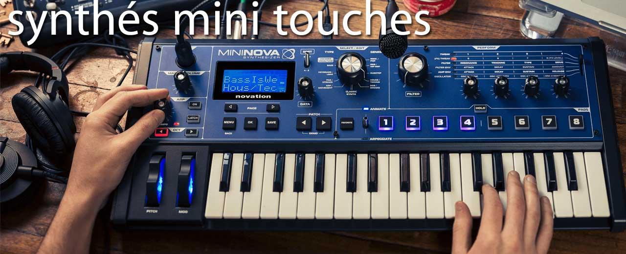 Synthés mini touches