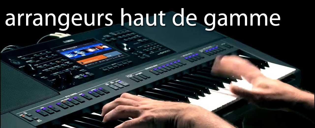 Claviers arrangeurs haut de gamme
