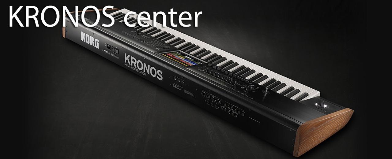KORG KRONOS CENTER