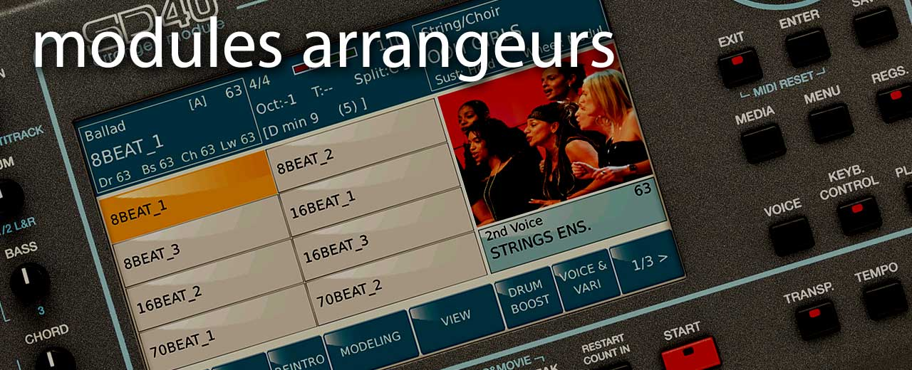 Arrangeurs modules