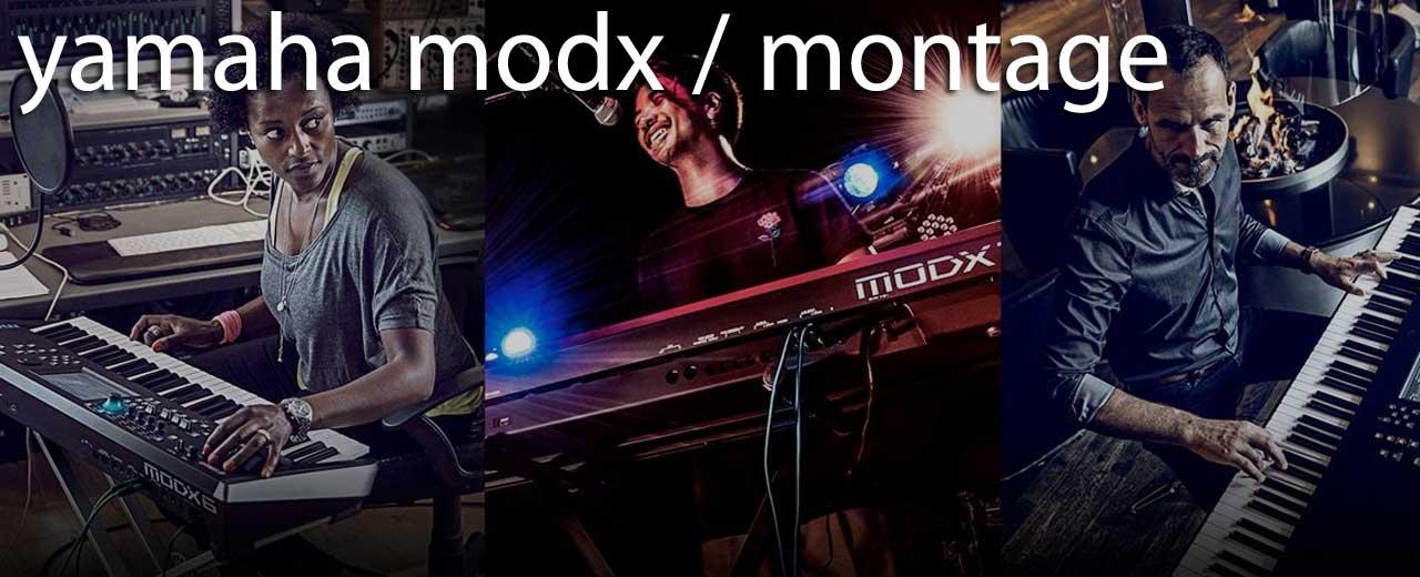 Yamaha MODX et MONTAGE