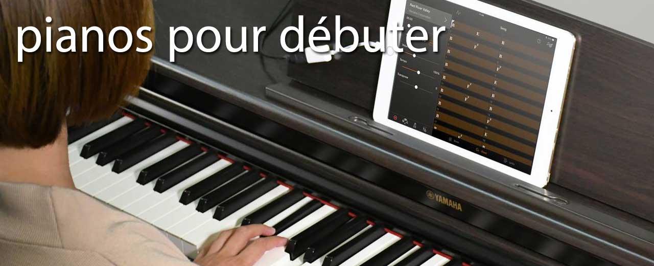 pianos pour débuter