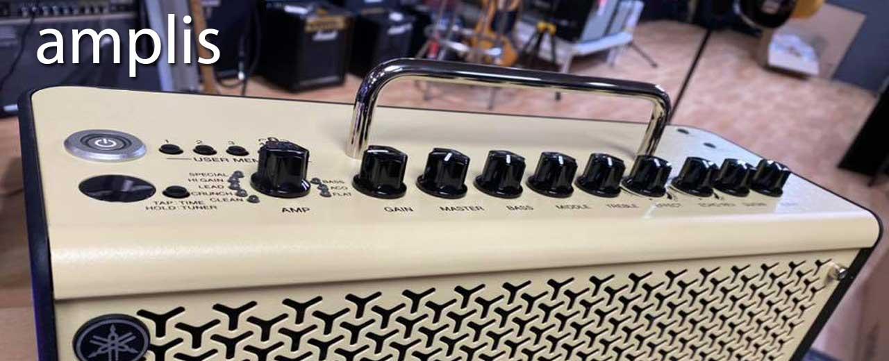 amplis pour guitares et basses