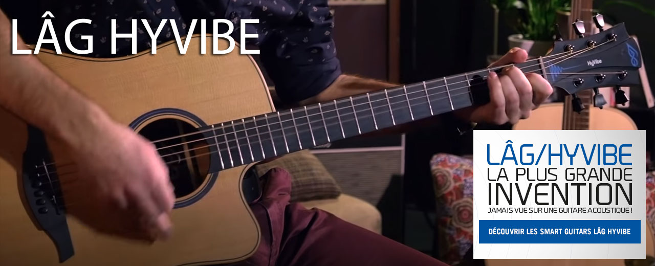 guitares lag hyvibe