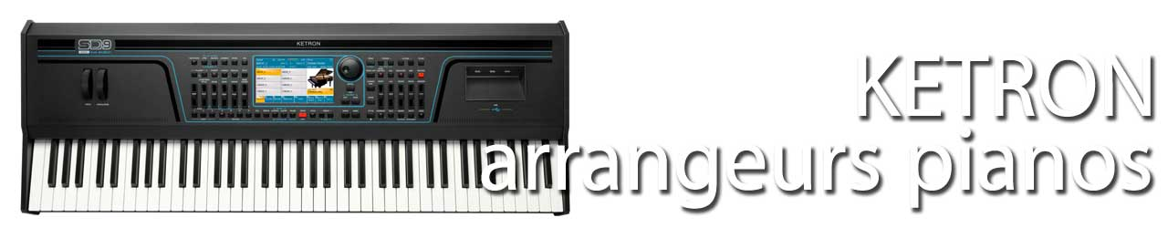 Ketron claviers pianos