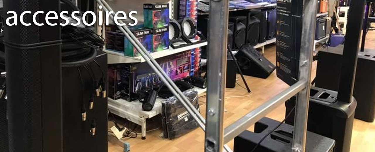 Accessoires pour sonorisation