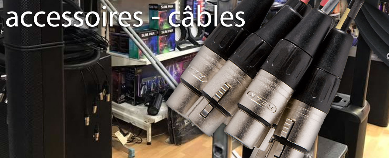 cables sonorisation