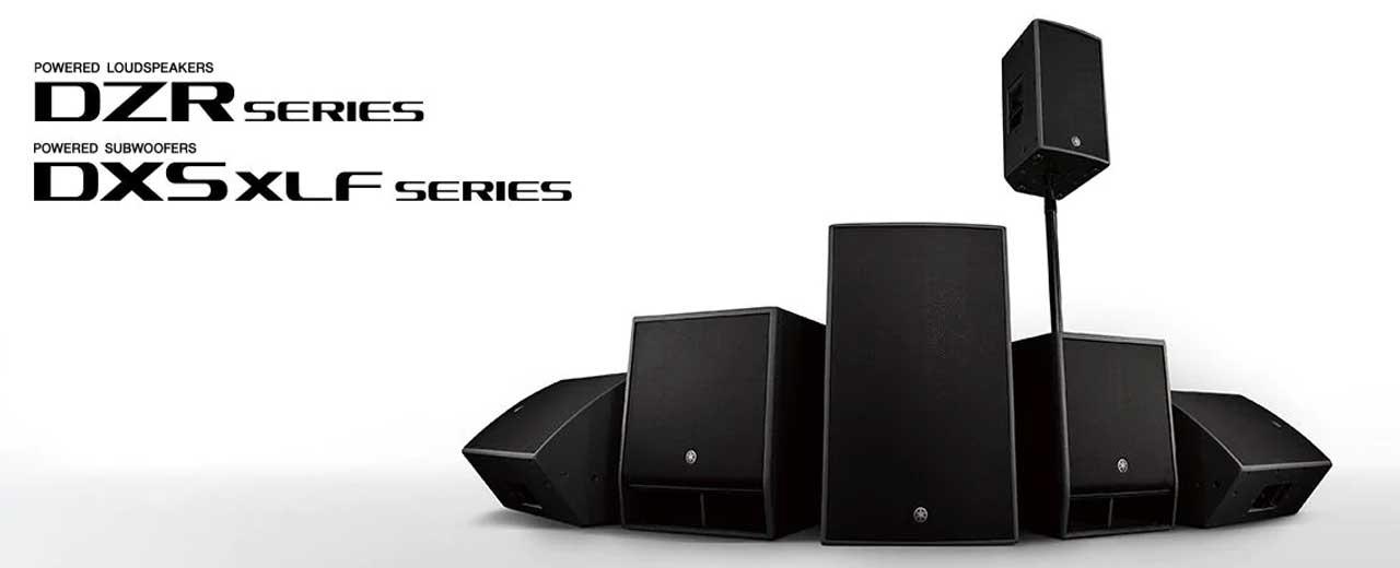 Yamaha enceintes DZR et DXS XLS