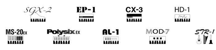 Neuf moteurs sonores différents qui offrent une puissante exprésivité