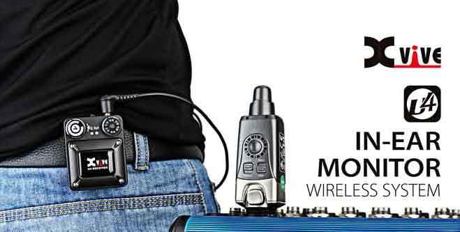 Ear Monitor U4 XVIVE