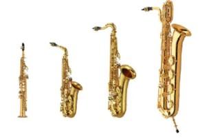 4 x saxophones encore plus réalistes