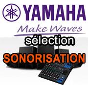 Espace sonorisation Yamaha DZR , DXR et DXS