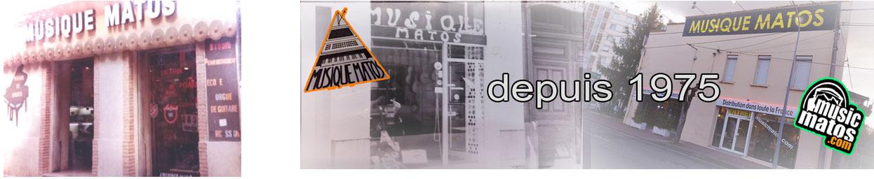 Depuis 1975 Musique Matos à Montauban