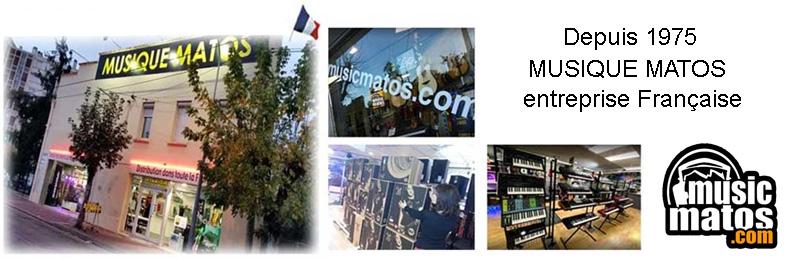 Musique Matos à Montauban, Entreprise Française