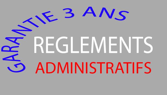 Règlements administratifs et chorus acceptés